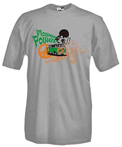 Settantallora Herren T-Shirt grau grau Grau