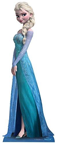 empireposter - Frozen - Elsa - Größe (cm), ca. ca. 161 - Pappaufsteller, NEU - Beschreibung: - Life-Size Stand-up, Lebensgroßer 2D Pappaufsteller - (Pappe Standups Lifesize)