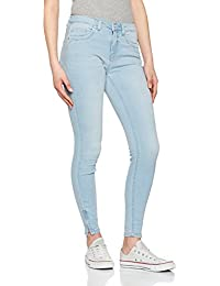 Only Onlkendell Reg Sk Ankl Cre200noos, Jeans Femme