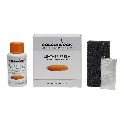 COLOURLOCK Leather Fresh dye 1fl oz DIY Repair Color, dye, restorer for scuffs, small cracks on car seats, sofas, bags, settees and clothing by Colourlock