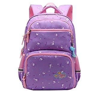 41PCl06U0jL. SS324  - SellerFun UKXB106 - Mochila Infantil Niños, 22 L Style B Purple (Morado) - UKXB426B1
