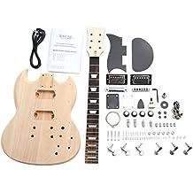 Rocktile 38310 - Kit de montaje para guitarra eléctrica, estilo Double Cut