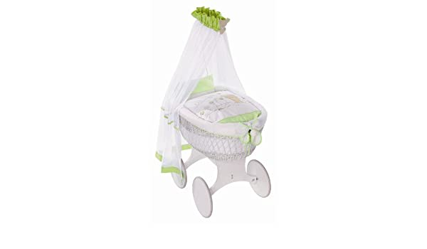 Easy baby himmelset für stubenwagen honey bear grün amazon