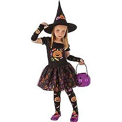 Rubies- Disfraz infantil bruja Candy, T (1-2 años) (Rubie's Spain S8349-T)