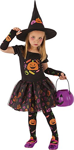 Rubies Disfraz Infantil Bruja Candy, t (S8349-T)