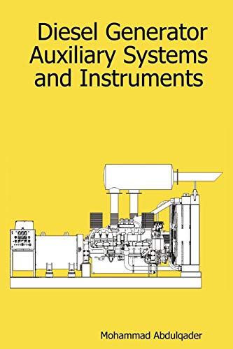 Diesel Generator Auxiliary Systems and Instruments - Diesel-generatoren