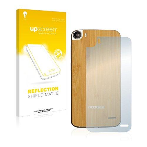 upscreen Entspiegelungs-Schutzfolie kompatibel mit Doogee F3 Pro (Rückseite) - Anti-Reflex Bildschirmschutz-Folie Matt