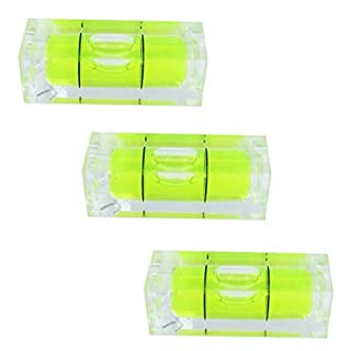 Mini Bubble Spirit Level x 3 Square 29mm