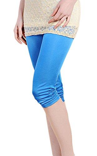 Damen Anti Emptied Unterhose Schluepfer Render Pants Blau XXL (Rise Womens Cropped Pant Low)