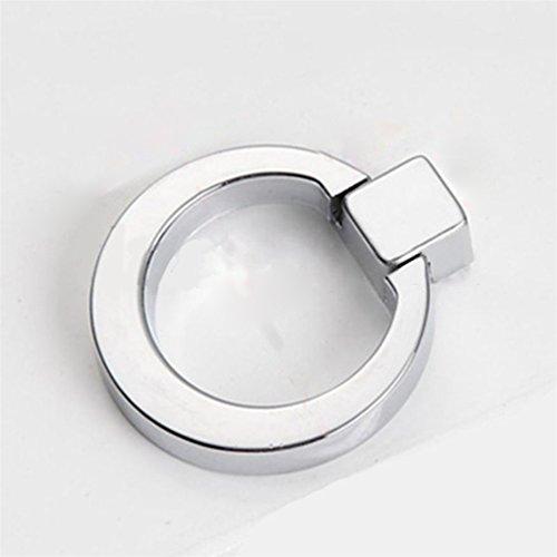Floralby Schublade Knöpfe, Moderner Schrank Kommode Ring Griff zieht One Size Chrome -