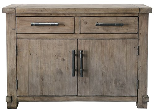The Wood Times Kommode Schrank Vintage Look Massiv Industrial Kiefer FSC Recycled, BxHxT 120x85x45 cm - 3