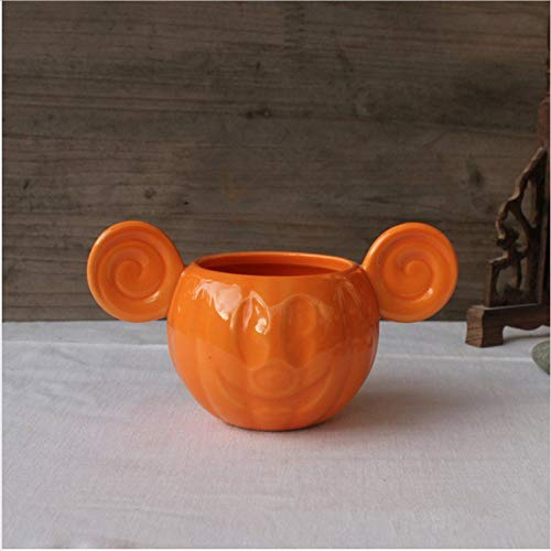 Teetasse Niedlichen Seltenen Cartoon Halloween Kürbis Mickey Kind Milch Keramik Becher Tasse Cosplay Geburtstagsgeschenk, B