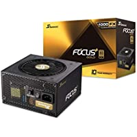Seasonic Focus Plus 1000W Power Supply, Full Modular, 80 Plus Gold, 90% Efficiency, Fan Control Button, Hybrid Silent Fan Control, 10 Years Warranty, Power and Performance | Black preiswert