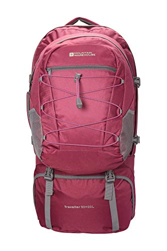 Mountain Warehouse Mochila Traveller 60 + 20 L - Mochila