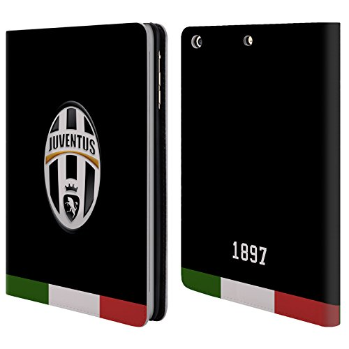 official-juventus-football-club-italia-black-crest-leather-book-wallet-case-cover-for-apple-ipad-min