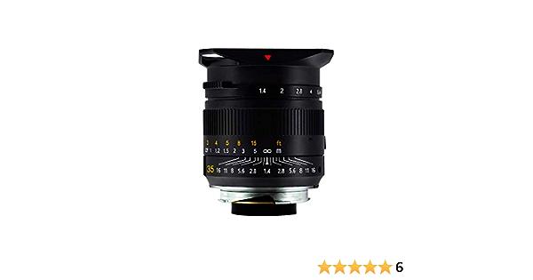 Ttartisan 35 Mm F1 4 Full Fame Objektiv Für Leica Kamera