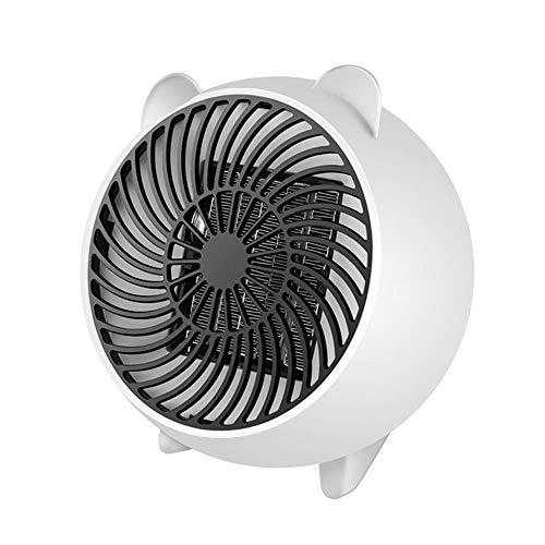 Persönlicher Mini Space Heater tragbarer elektrischer Heizlüfter mit PTC-Keramikheizelement-Überhitzungsschutz für Büro, Haushalt und Zimmer