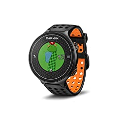 GARMIN Approach S6 Light Orange 010-01195-02 - Spezielle CourseView-Taste zum Anzeigen der genauen Distanzen sowie der Form und des Layouts des gesamten Lochs, einschließlich Abschlag, Fairway und Grün - Schwung-Training: SwingTempo, TempoTraining un...
