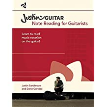 Justinguitar.com: Note Reading For Guitarists: Noten, Musiktheorie für Gitarre