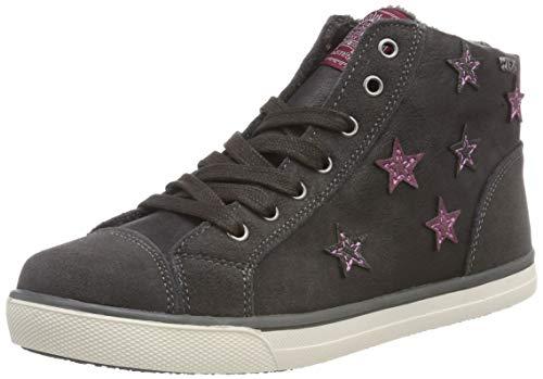 Indigo Mädchen 452 068 Hohe Sneaker, Grau (Grey 204), 39 EU