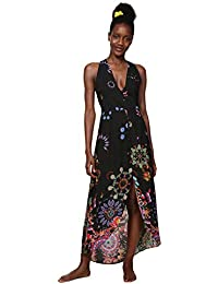 4a2914a3b59c Desigual Dress Swimwear Magda Woman Black Vestito Donna