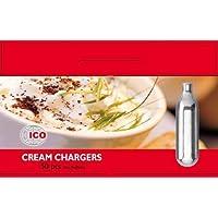 Impeccable Culinary Objects ICON850 Boîte de 50 Cartouches pour Siphon Chantilly Métal Argent 6,5 x 1,8 x 1,8 cm