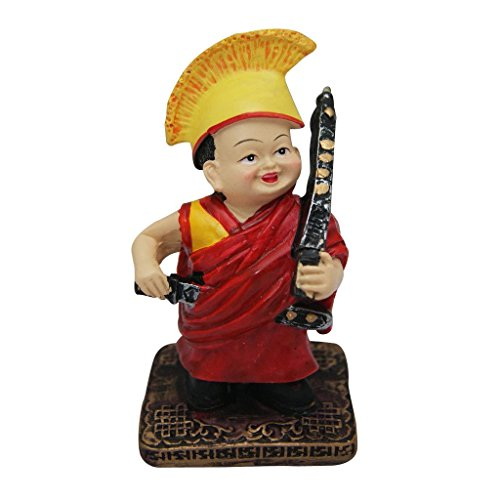 Divya Mantra Chanting Tibetan Monk Showpiece  available at amazon for Rs.399
