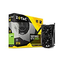 ZOTAC GeForce GTX 1050 Ti OC Edition 4GB GDDR5 Super Compact Gaming Graphics Card | ZT-P10510B-10L