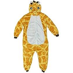 Triseaman Los ni?os Homewear Sleepsuit Animal Pijamas Cosplay Jirafa XXL