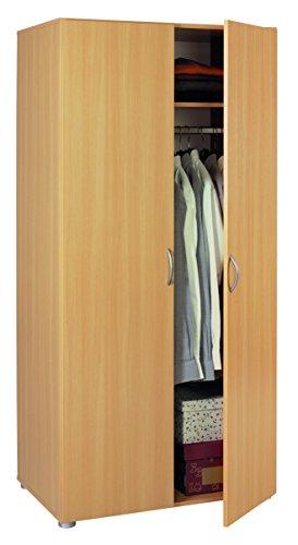 Harmony Muebles Fusion armario de dos puertas con vaneer de madera madera de haya,