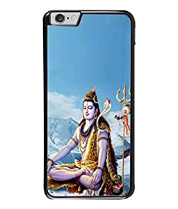PrintVisa Designer Back Case Cover for Apple iPhone 6s Plus :: Apple iPhone 6s+ (Shiva In The Kailash Mountain)