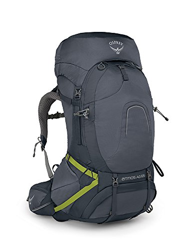Osprey Atmos AG 65 Men's Backpacking Pack - Abyss Grey (MD)
