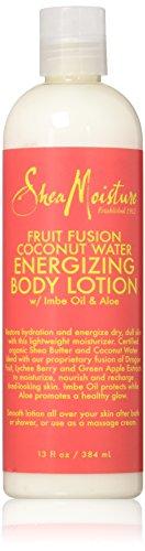 SheaMoisture Fruit Fusion Coconut water Energizing Body Lotion13oz by Shea Moisture (Energizing Fruit)