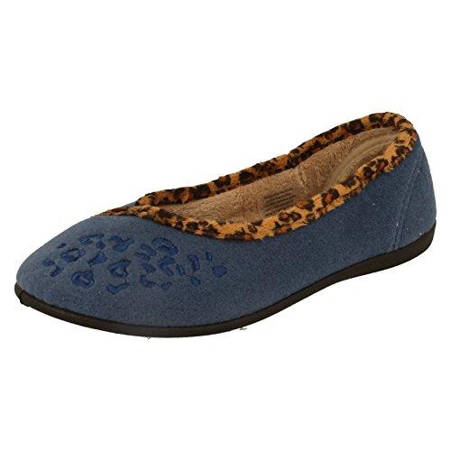 Padders - Sandali con Zeppa donna Blu (Blu)