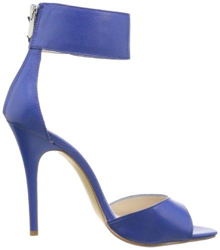 Chinese Laundry Joy Ride Femmes Cuir Sandales Bleu - Royal Blue