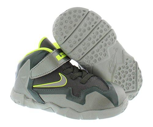 New Nike Jungen Downshifter Sportschuhe Schwarz / Silber 13 McGreen/SSpry-DkMc/GrnVlt