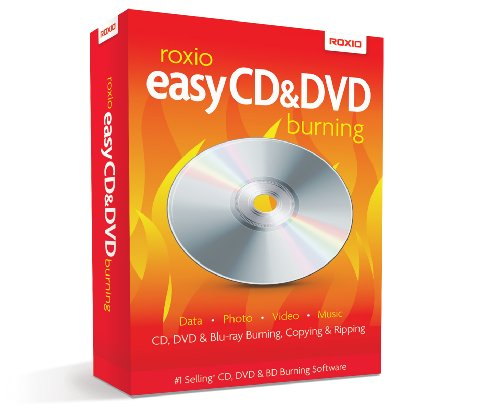 Roxio Easy CD & DVD Burning, Win, CD, ML