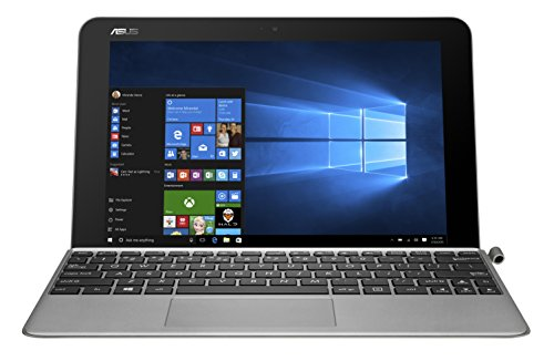 'Asus T102H - Tableta táctil 10.1 (128 GB, Windows 10, Wi-Fi, Gris), teclado AZERTY