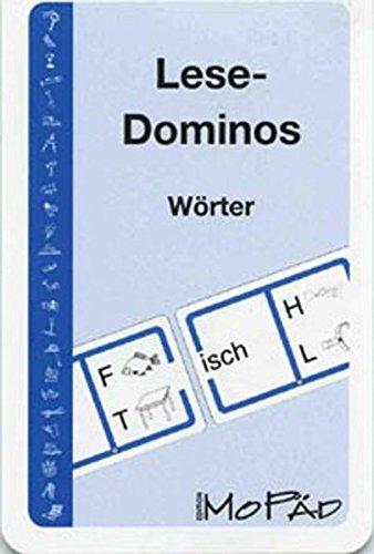 Lese-Dominos - Wörter: 1. und 2. Klasse