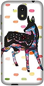 The Racoon Lean Oh Deer hard plastic printed back case / cover for HTC Desire 526G Plus