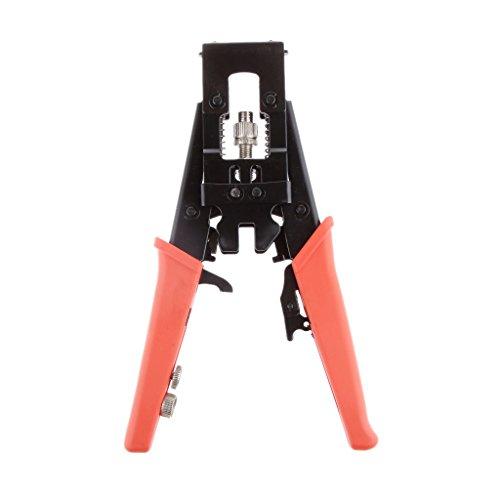 MagiDeal Universal Compression Crimper Werkzeug Tool for PPC EX6XL, EX59XL, CMP6, CMP6Q, CMP59, CMP59Q TV BNC RCA Connector Ppc Compression-tool
