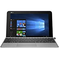 'Asus T102H - Tableta táctil 10.1 (128 GB, Windows 10, Wi-Fi, Gris), teclado AZERTY, [Importado de Francia]