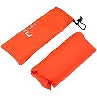 Vinkent 3 in 1 Multifunktions Regenmantel Outdoor-Reisen Regen Poncho Rucksack Regen Abdeckung Wasserdicht Zelt Markise Klettern Camping Wandern (orange)