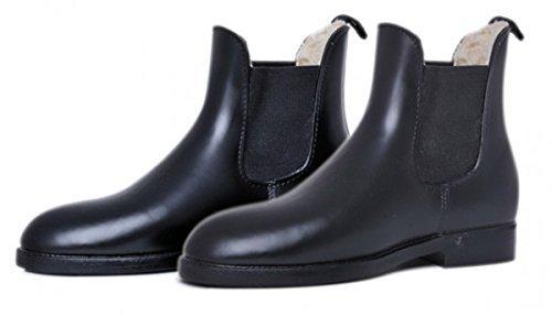 HKM Jodhpurgummistiefel -soft/weit- mit Teddyfutter, Schuhgrösse 42, schwarz