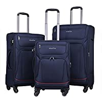 WindTook Suitcase 4 Spinner Wheels Trolly Case Carry-ons Suitcase Travel Tote Luggage Set(20