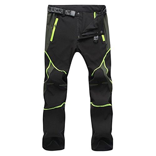 Pantalones montaña transpirables y ligeros para hombre aprueba de viento. Secado rápido