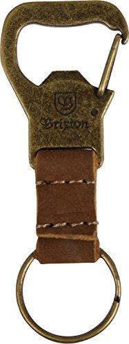 Brixton Kassik Schlüsselclip für Herren antique bronze