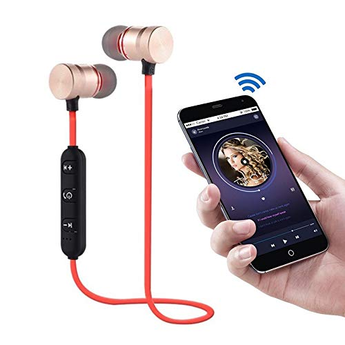 M5 Wireless Bluetooth Earphones Magnetic Attraction Handsfree Headset 3D  Stereo HiFi Sports Earbuds Gaming Headphone w/Mic