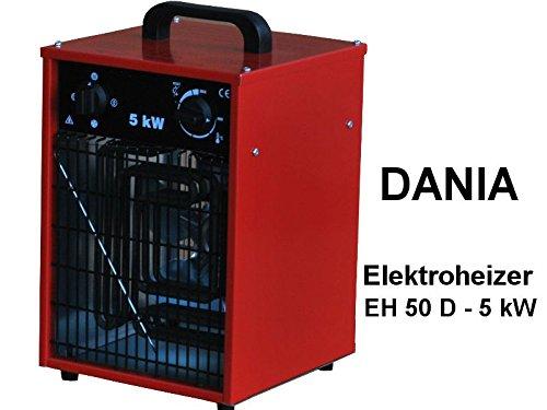Gewerbeheizlüfter, 400V/5 kW, DANIA
