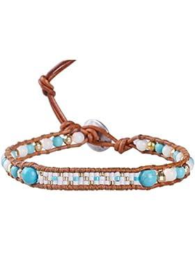 KELITCH Armband Perlen Vergoldet Rocailles Perlen Woven Damen Freundschaftsarmbänder